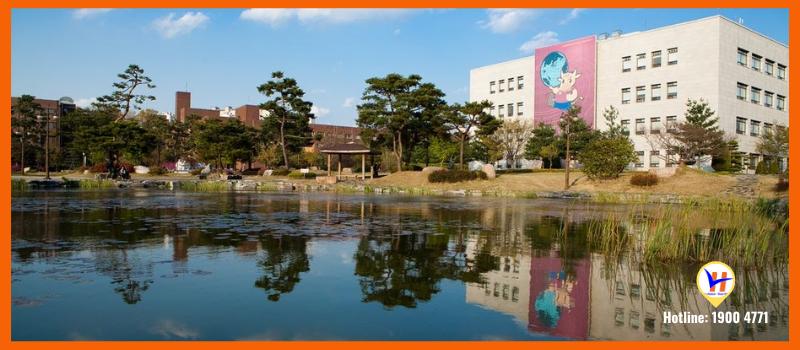 Trường Đại học Quốc gia Chungbuk - Top 10 trường Công lập học phí thấp nhất Hàn Quốc
