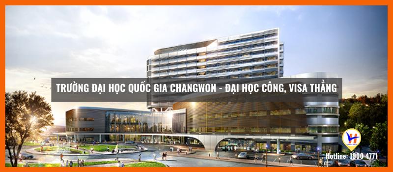 Trường Đại học Quốc gia Changwon - Đại học công visa thẳng